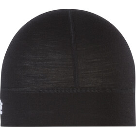 P.A.C. Bonnet en mérinos, black